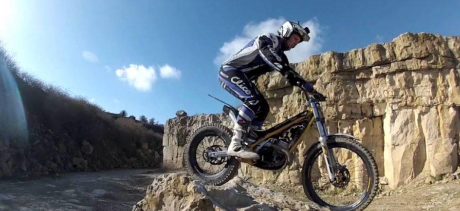 motor bike trial