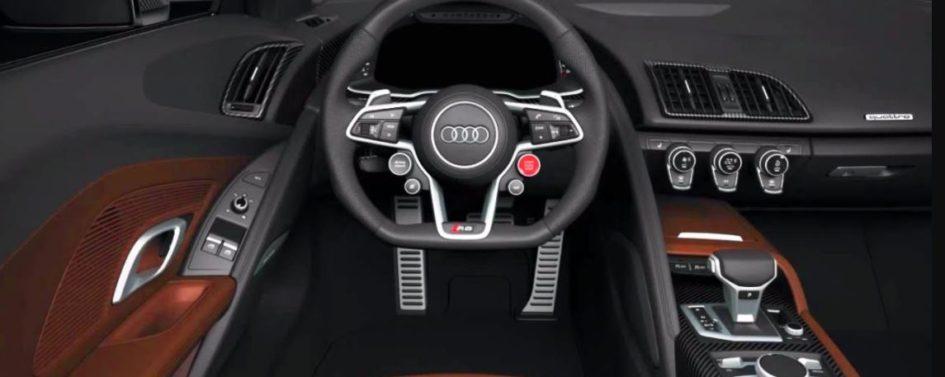 interior of audi r8